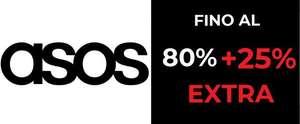 Sconti fino al 80% + 25% EXTRA - ASOS