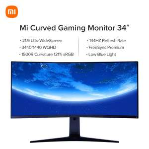 Xiaomi Curved Gaming monitor 34 '' 1500R