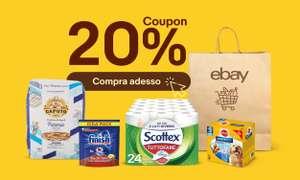 Coupon 20% Spesa Settembre Ebay