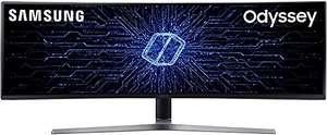 """Monitor Samsung QLED 49"""" Curvo 144 Hz - 1 ms"""
