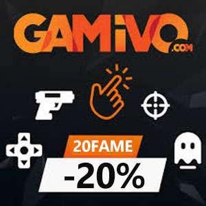 Codice Sconto -20% Gamivo