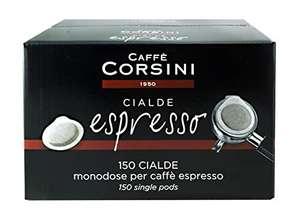 Confezione da 150 Cialde Caffè Corsini - Gusto Forte e Intenso