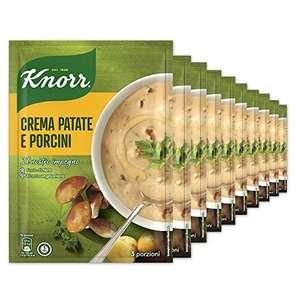 Knorr Crema Con Patate E Funghi - Confezione Da 10 Pezzi - 940 g
