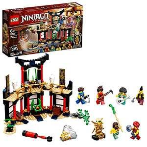 LEGO NINJAGO Il Torneo degli Elementi, Playset Tempio con Piattaforma da Battaglia e Minifigure d'Oro di Lloyd