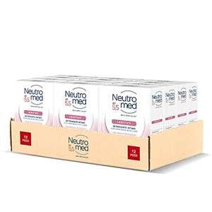 Neutromed Detergente Intimo Lenitivo, con Complesso Micellare, Azione Emolliente, pH 5.5, 12 Pezzi x 200 ml- altri in descrizione