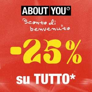 25% di Sconto su About You