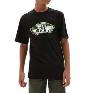 T-Shirt da Ragazzo Vans Otw