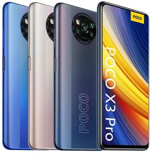 POCO X3 PRO 8+256GB 208€