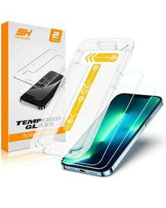 Vetro Temperato Compatibile con iPhone 13 Pro Max 6,7 Pollici, [2 Pezzi]