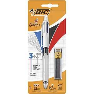 BIC 4 Colori Multifunzione Penna a Sfera a Scatto