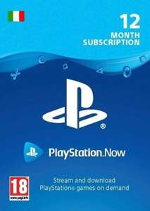 PlayStation Now 12 Months Subscription (IT) PSN Key ITALY