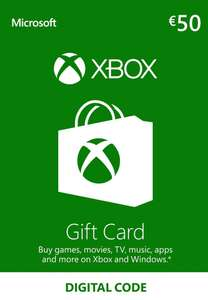Xbox Live Gift Card 50 EUR Xbox Live Key EUROPE