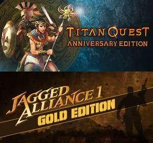 Titan Quest Anniversary Edition & Jagged Alliance 1: Gold Edition Per Steam GRATIS