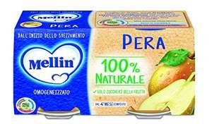 Mellin Omogeneizzato Pera - 24 vasetti da 100 gr