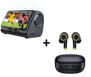 Bundle Bluedio Mobile Soundbar + Auricolari Bluetooth