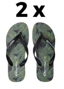 2 x Superga Slippers Uomo 12.7€