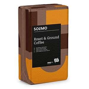Marchio Amazon - Solimo Caffè Macinato - Compatibile con Diverse Macchine da Caffè - 2 kg (4 Pacchi x 500 g)
