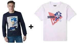 Felpa + T-Shirt Sonic 24.9€
