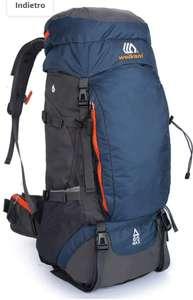 SKYSPER Zaino da Trekking 65L [Solo 1]