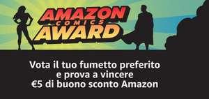 Vota il tuo fumetto preferito e prova a vincere 5€ di buono sconto Amazon
