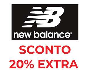 Codice Sconto -20% New Balance