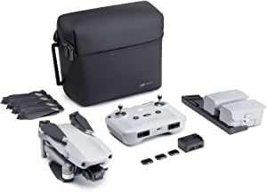 """DJI Mavic Air 2 Fly More Combo - Drone con videocamera 4K in Ultra HD, foto da 48 megapixel, sensore CMOS da 1/2 """", tempo di volo 34 minuti"""