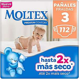 Moltex Premium Comfort Pannolini taglia 3 (4-10 kg) - 112 pannolini