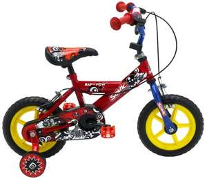 SONIC Kap-Pow, Bici da Bambino, 12-inch, Colore: Rosso/Blu