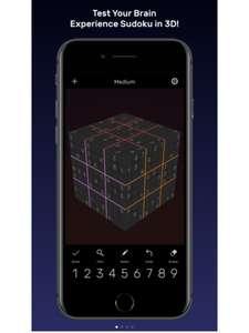 iOS: sudoku evolved 3d