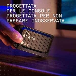 WD_BLACK D30 2 TB Game Drive SSD - Velocità e capacità di archiviazione, compatibile con Xbox serie X S e PlayStation 5
