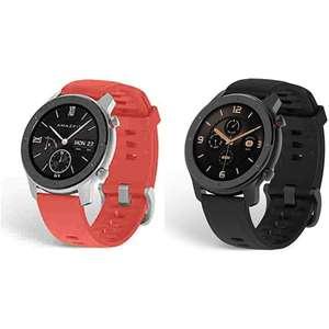Amazfit Smartwatch GTR 42mmRosso a 66,61€ - Nero a 79,69€