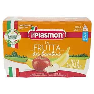 Plasmon Frutta dei Bambini - Mela Banana 4x100g (6 Confezioni)