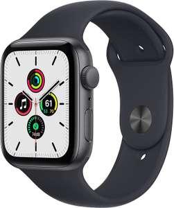 2021 Apple Watch SE (GPS) Cassa 44 mm in alluminio grigio siderale con Cinturino Sport color mezzanotte - Regular