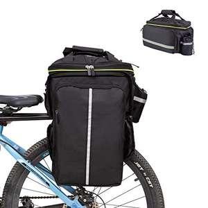 Borsa Posteriore Cremagliera per Bicicletta capacità 32L