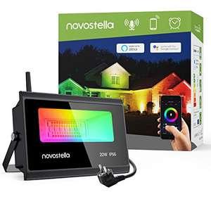 Faretto LED Intelligente 20W 3 in 1 RGBCW Multicolore WiFi APP Controllo, IP66