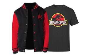 Bundle Jurassic Park Giacca + T-Shirt - Zavvi