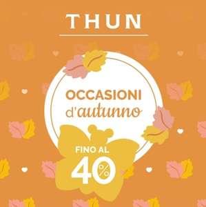 Offerte Autunno Thun - Fino al 40% di Sconto