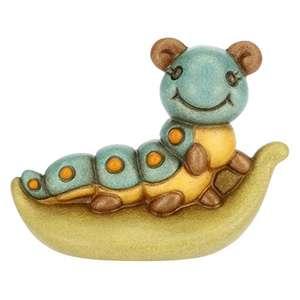 THUN - Soprammobile Mini Animale Bruco Linea Acqua Dolce - Ceramica- altri della stessa linea in descrizione