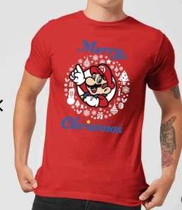 T-shirt Mario Mania su Zavvi solo 10.90 € con spedizioni incluse