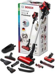 Bosch Unlimited Serie | 6 ProAnimal - Scopa Elettrica Ricaricabile, Aspirapolvere senza Fili e senza Sacco, 18V