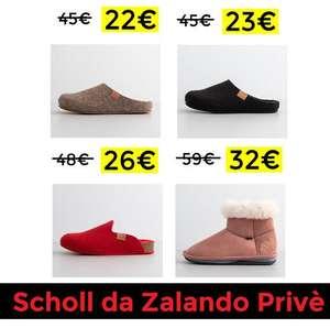 Pantofole Donna Scholl in Offerta