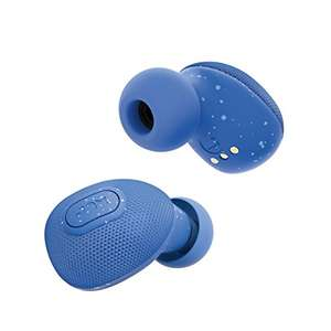 Jam Live True Bluetooth Earbuds, Blu