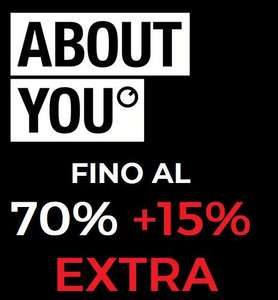 Sconti fino al 70% + 15% EXTRA - About You