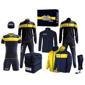 Zeus Apollo Set da calcio Box teamwear da 12 pezzi varie taglie e colorazioni disponibili