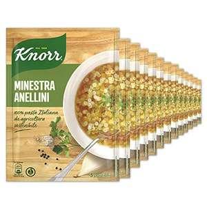 Knorr Minestra Anellini - Confezione Da 15 Pezzi - 1.25 kg