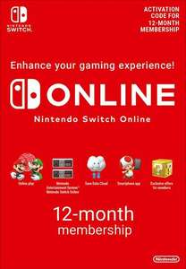 Nintendo Switch Online abbonamento 12 mesi EU