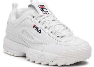 Fila DISRUPTOR - Sneakers basse - bianco Donna