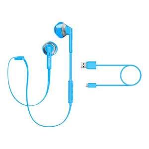 Philips FreshTones SHB5250 - Auricolari blu Bluetooth