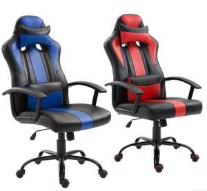 Sedia Gaming con cuscino Lombare 67.9€