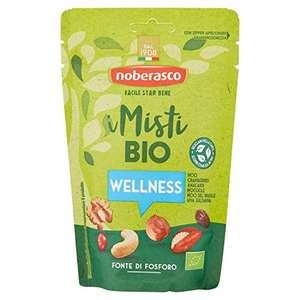 16 Pacchetti da 130 Gr Noberasco i Misti Bio Wellness- Misto di frutta secca sgusciata ed essiccata biologica